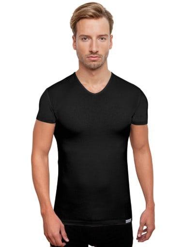 ANTIBAKTERIELLES Tshirt/Unterhemd Schwarz