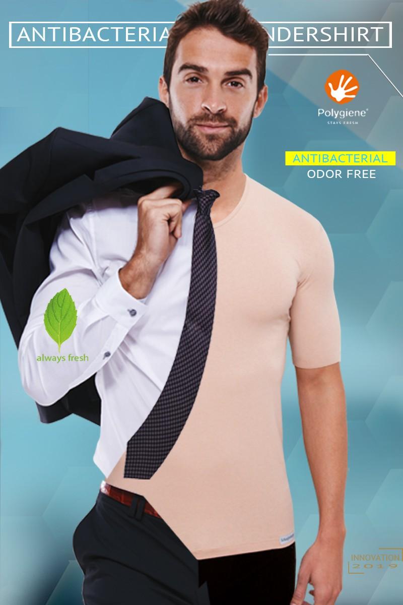 ANTIBAKTERIELLES Unsichtbares Unterhemd